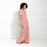 Rachel Zoe Rilo Poppy Print Maxi Skirt