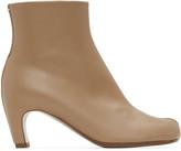 Maison Margiela Beige Low Heel Tabi Boots