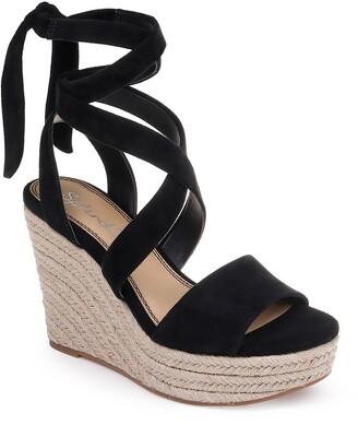 Splendid Tessie Ankle Wrap Wedge Sandal