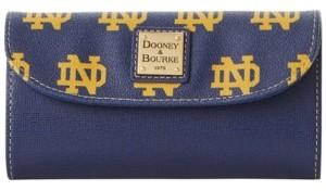 Dooney & Bourke Notre Dame Fighting Irish Saffiano Continental Clutch