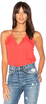Rebecca Taylor Ruffle Cami in Red. - size 6 (also in )