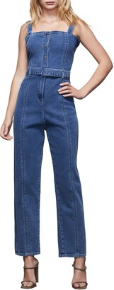 Good American Belted Sleeveless Jumpsuit