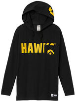 PINK University Of Iowa Campus Hoodie Tee
