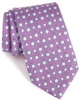 Vineyard Vines Men's 'Tee Time' Print Silk Tie