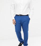 Farah Smart skinny wedding suit pants in blue