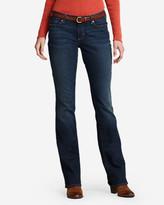 Eddie Bauer Women's StayShape Boot Cut Jeans - Slightly Curvy