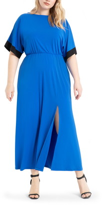 ELOQUII Dolman Sleeve Maxi Dress