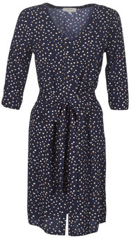 Cream GEMINA women's Dress in Blue