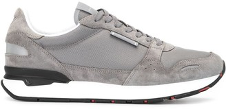 Emporio Armani Panelled Low Sneakers