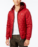 G Star Men's Meefic Quilted Hooded Jacket
