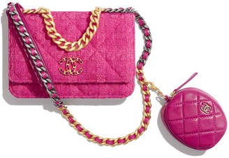 Chanel 19 Wallet On Chain & Coin Purse