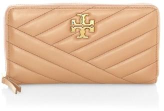 Tory Burch Kira Chevron Leather Wallet