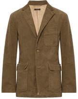 Engineered Garments Light-Brown Slim-Fit Cotton-Corduroy Blazer