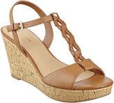 Liz Claiborne Keira T-Strap Wedge Sandals