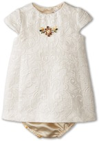 Dolce & Gabbana Ceremony Embroidered Dress Set (Infant)