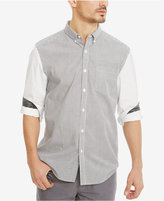 Kenneth Cole Reaction Men's Pattern-Blocked Cotton Shirt