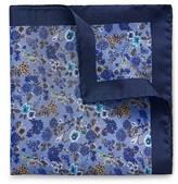 Eton of Sweden Multi Floral Pocket Square