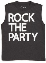 Chaser Toddler Boy's Rock The Party Muscle Tank