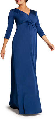 Tiffany Rose Maternity Willow Surplice 3/4-Sleeve Jersey Gown