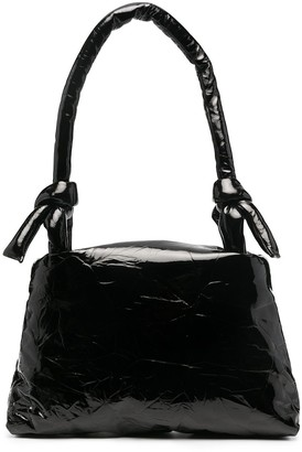 Kassl Editions Lady lacquer-finish shoulder bag