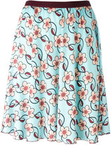 I'M Isola Marras floral print flared skirt