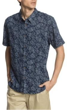 Quiksilver Men's Outlined Garden Short Sleeve Shirt