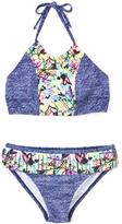 Denim Rebel Girl Bikini Top & Bottoms
