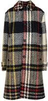 Lanvin Check Pattern Coat