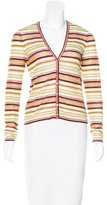 Missoni Striped Lattice Cardigan