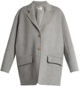 Acne Studios Lupi Doublé wool-blend coat