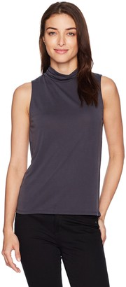 GUESS Women's Sleeveless Piper Lace up Back Top