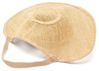 Loewe Halo Woven Raffia Hat - Beige