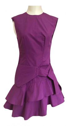 Louis Vuitton Purple Cotton Dresses