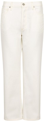 Citizens of Humanity Emery White Straight-leg Jeans