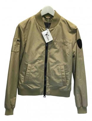 Nobis Beige Cotton Jacket for Women