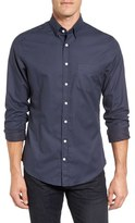 Gant Linear Trim Fit Print Tech Sport Shirt
