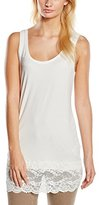 Tom Tailor Women's Sleeveless Vest - White -