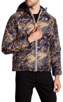 K-Way Alois Padded Graphic Reversible Jacket