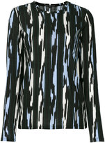 Proenza Schouler embroidered knitted sweater - women - Cotton - S