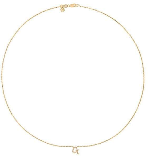 Sydney Evan Diamond G Necklace