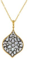 Gurhan Two-Tone Diamond & Moonstone Pendant Necklace