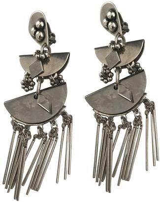 Reminiscence Silver Steel Earrings