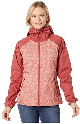 Columbia Ulicatm Jacket (Dusty Crimson/Cedar Blush Ferny Ferns Print) Women's Coat