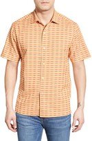 Tommy Bahama 'Pixel In Paradise' Original Fit Short Sleeve Sport Shirt