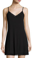 Natori Feathers Lace-Trim Chemise