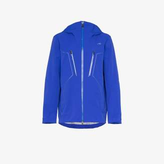 Kjus KJUS Blue macun technical shell hooded jacket