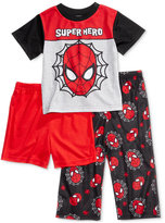 Spiderman 3-Pc. Super Hero Pajama Set, Toddler Boys (2T-5T)