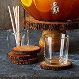 Sur La Table Wood Slice Coasters, Set of 4