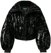 CHEN PENG sequin puffer jacket