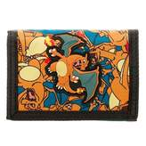 Bioworld Pokemon Charizard Hook and Loop Trifold Wallet